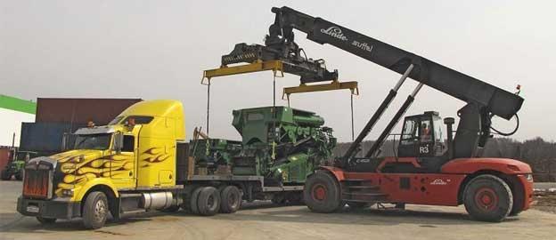 Перевозка оборудования